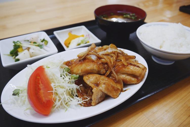高知美食_薑燒豬肉