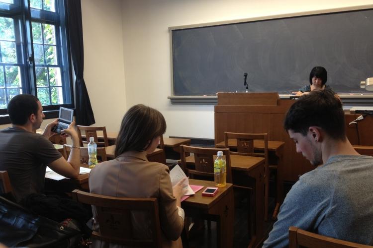 某次上日文課的教室