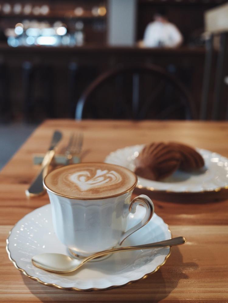 喫茶半月-咖啡及點心