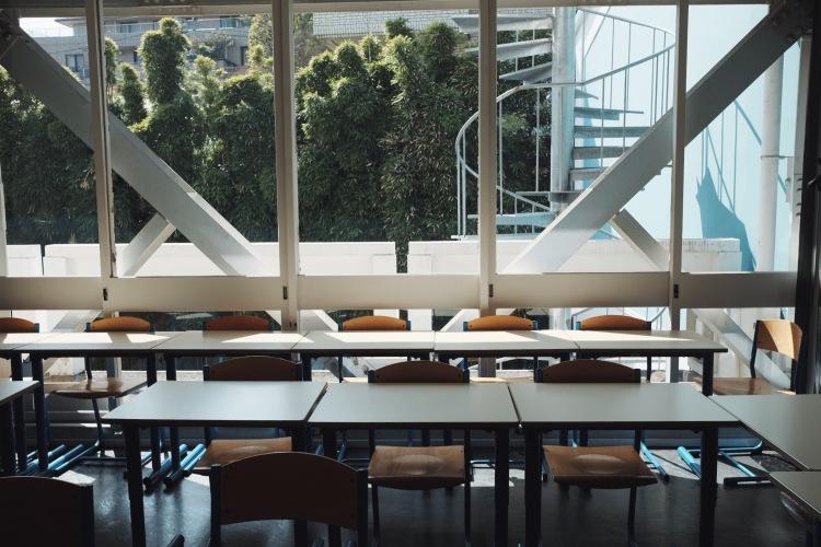 神樂坂法語學院教室內部