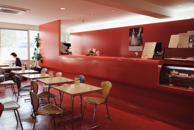 神樂坂法語學院咖啡廳麵包