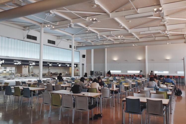 日本大學江古田校區食堂