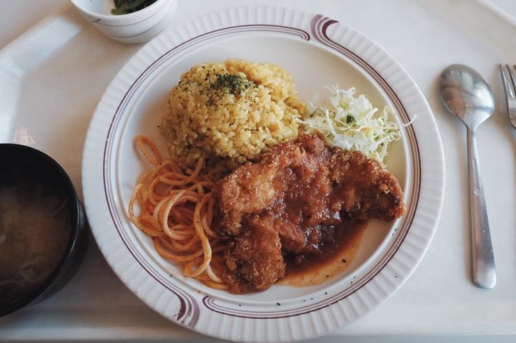 日本大學學生食堂餐點
