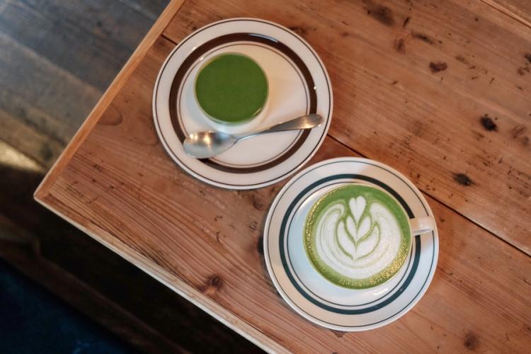 saten tea抹茶布丁