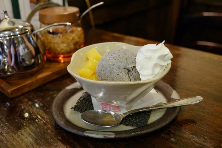 永田珈琲的冰淇淋甜點