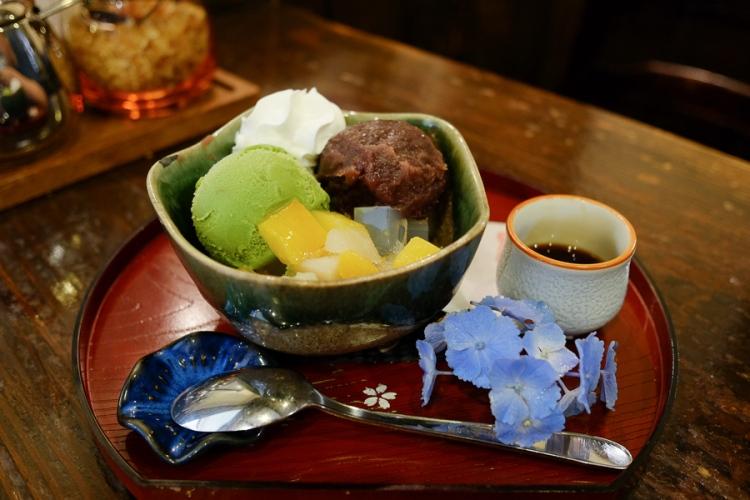 永田珈琲的甜品與咖啡