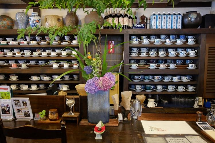 永田珈琲的店內空間