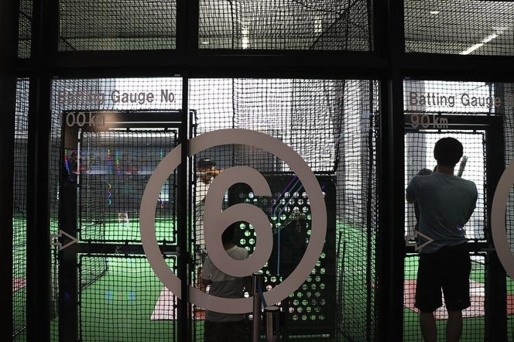 q-plaza池袋-棒球打擊場2