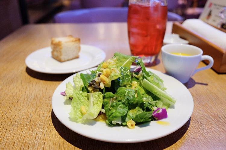 日本橋午餐美食_BRASSERIE D & SWEETROOM_沙拉