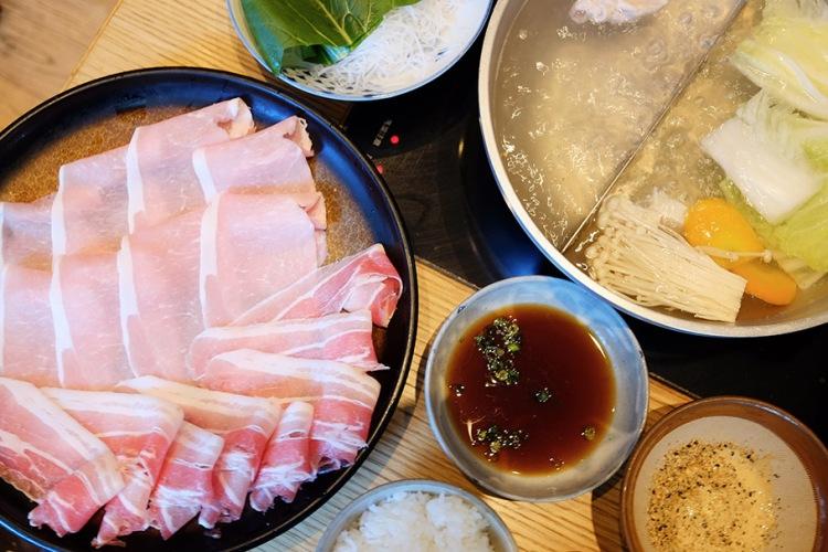 日本橋午餐美食_銀座しゃぶ通 好の笹 日本橋店