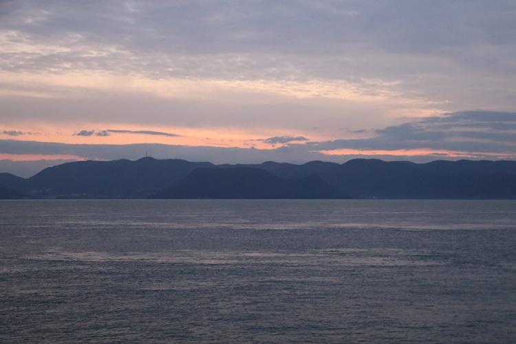 瀨戶內海的夕陽
